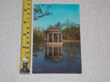 Postcard Rare Vintage Music Pavilion Slater Park Pawtucket Rhode Island