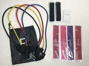 Fitness Insanity Workout Bands 4 pc Letsfit Intensity Resistance Bands 4 pc Lot