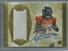 2012 Topps Five Star Football Ronnie Hillman Auto Rookie Jersey Card # 19/55