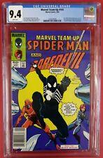 CGC 9.4 RARE NEWSSTAND VARIANT Marvel Team-Up #141 1st BLACK COSTUME! 3-way Tie!