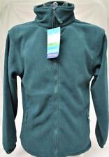 Mens Green Portwest Aran Fleece Jacket Workwear Full Zip (F205)