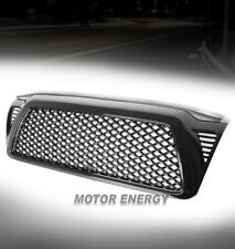 05-11 TOYOTA TACOMA FRONT HOOD UPPER SPORT MESH ABS GRILLE W/SHELL GLOSS BLACK