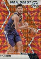 2019-20 Panini Mosaic NBA Debut Orange Reactive Prizm Ty Jerome #273 Rookie