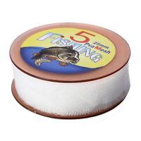 1X(5M PVA Carp Fishing Mesh Universal Refill Stocking Rig Bait Bags 25MM M7I8)