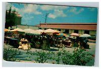 Open Air Market, Nassau Bahamas c1956 Postcard M23