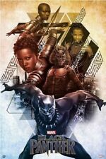 BLACK PANTHER ~ CHARACTERS ~ 24x36 MOVIE POSTER ~ Marvel NEW/ROLLED!