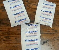 (3) PACKS - FryPowder Deep Fryer Oil Stabilizer & Filter Aid Fry Powder - P36B