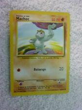 Carte pokémon machoc 52/102 commune set de base wizard etat moyen