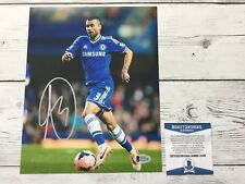 Ashley Cole Signed Autographed Chelsea FC 8x10 Photo Beckett BAS COA c