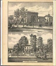 1876 Santa Clara County California plat maps old Genealogy Land Owners Dvd P26