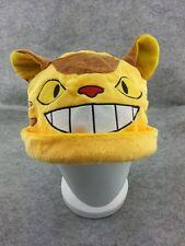 Neighbor Totoro Cute Kawaii Soft Rave Beanie Cap Furry Plush Cosplay Cat Bus Hat