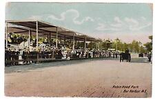 1908 Bar Harbor Maine ME Picture Postcard Cover to New York City Robn Hood Park
