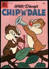 "Chip ""N"" Dale (1953) #11 1st Print Flower Horn & Leaf Drum Music Cover FN/VF"