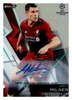 2018-19 Topps Finest UEFA Soccer Base Auto (You Pick) $4.95-$29.95