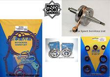 Yamaha YZ 85 02-17 Mitaka Bottom End Engine Rebuild Kit Crank Mains Gasket Seal