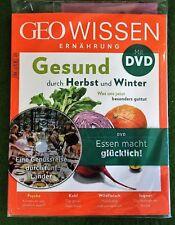 GEO WISSEN ERNÄHRUNG Nr. 4 Gesund durch Herbst und Winter + DVD