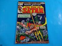 son of satan  #19  marvel  comics Comic book