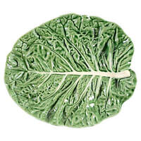 Bordallo Pinheiro Cabbage Green Oval Serving Platter 8932392