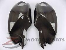 Ducati 696 796 1100 Gas Tank Upper Side Cover Panel Fairing Cowl Carbon Fiber