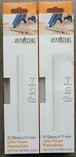 2 x Steinel ULTRA Power KLEBESTICKS 11mm 250g 20St. 250mm Heißklebesticks 006761