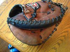 Easton NAT20 Natural Series Leather Baseball Catchers Mitt RHT