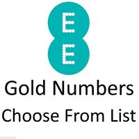 EE GOLD VIP BUSINESS EASY MOBILE PHONE NUMBER DIAMOND PLATINUM PAYG SIM CARD