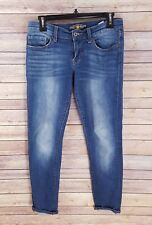 Lucky Brand Sienna Cigarette Cropped Jeans Skinny Slim Ankle Fit Medium Wash 25