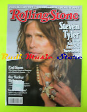 ROLLING STONE USA MAGAZINE 1130/2011 Steven Tyler Paul Simon P. McCartney  No cd