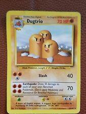 Pokemon Card Base #19/102 Dugtrio..vlp
