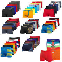 Lot Of 6 or 12 Men Seamless Boxer Briefs Knocker Microfiber Underwear Wholesale
