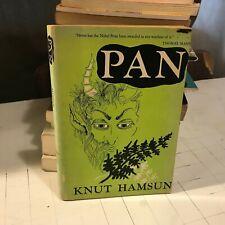 pan knut hamsun noonday 1956 book novel paperback english trans mcfarlane rare!