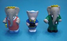 Arby's 1990's - Babar the Elephant Finger puppets - Lot of 3 Different