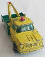 Dodge wreck truck, BP, grün gelb, Matchbox Superfast No.13, England