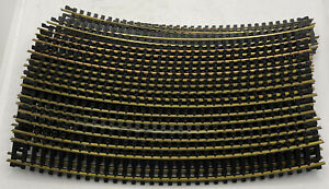 """Tyco HO Scale 18""""R Curved Railroad Track - #918 Train Layout - 20 PIECES"""