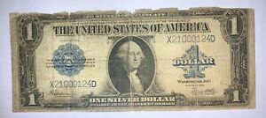 1923 USA One Silver Dollar Banknote Well Circulated X21000124D Very Rare