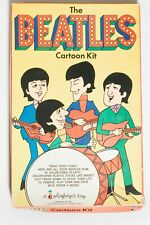 1966 Nems Colorforms The Beatles Cartoon Kit