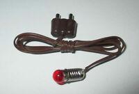 Kahlert - Éclairage 3,5 Volt Monture E5.5 Ampoules Rouge Neuf / Emballage