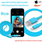 Lightning to USB Sync Charger Cable Apple iPhone5 5C 5S 6 Sync music audio video