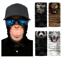 Animals Lions Motorcycle Cycling Neck Scarf Bandana Headband Cosplay Balaclava