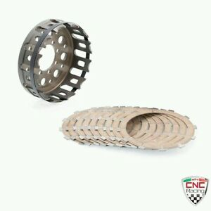 CNC Racing Kupplung Korb & Teller Ducati ST2 ST3 ST4 996 998 999 Supersport 1000