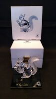 SWAROVSKI COLLECTIBLE  FIGURINE SIGNED 1997 SCS 10TH ANNIVERSARY SQUIRREL 208433