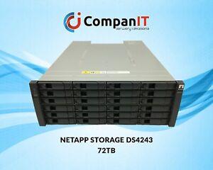 NETAPP STORAGE DS4243 72TB