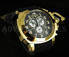 Invicta 53mm Coalition Forces MAN OF WAR SWISS Chronograph 18K Gold Plated Watch