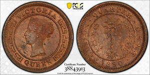Ceylon 1890 1/4 Cent PCGS MS64BN PC0911* combine shipping<br/><br/>The one you r