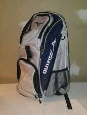 Mizuno Tornado Volleyball Player Backpack Navy/Silver Coaching Bag