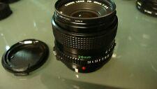 CANON LENS FD 28mm #573980 Body V1210 JAPAN w/TOSHIBA 52mm S  L39-3(UV) Filter