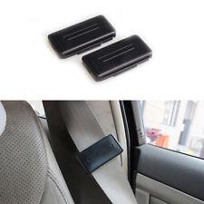 2x Safety Seat Belt Adjuster Stopper Clip Buckle Shoulder Relax Neck Supports