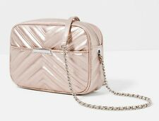 NEW WITH TAGS ZARA QUILTED CITY BAG WITH CHAIN