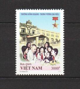 VIETNAM 2017 DONG KHANH TRUNG VUONG HA NOI SCHOOL COMP. SET OF 1 STAMP MINT MNH