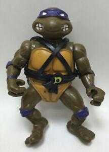 1988 Donatello Hardhead Teenage Ninja Turtles TMNT Vintage Figure